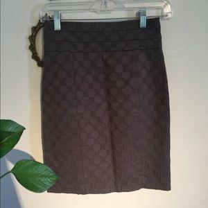 H&M gray pencil skirt size 4 XS